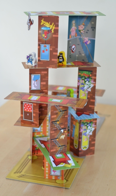 Rhino hero super battle tower